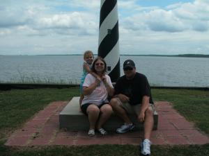 Pat Lucas(mother &grandma) Scott Lucas(son,daddy)& Madyson Lucas(daughter&granddaughter)