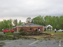 Viewer photos of the April 16, 2011, storm damage submitted on the day of the tornadoes.