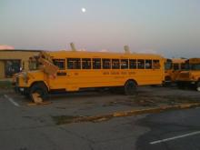 School buses in Cumberland Co