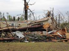 See storm damage photos from the Triangle and surrounding areas submitted April 17 courtesy of WRAL viewers.