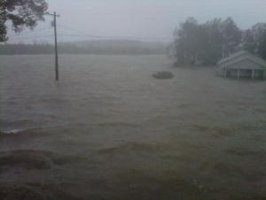 Hurricane Irene in Pamlico County