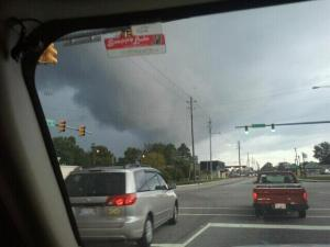 this was in Angier around 6 o'clock tonight goinng towards Fuqauy .