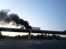 I-40 Ramp to I-540 Vehicle Fire