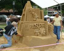 Sand Art and Music