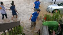 IMAGES: Rain drenches central NC