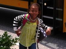 Enjoy these viewer-submitted photos of students on their first day back to school on Aug. 26, 2013.