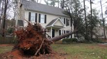 IMAGES: Storms cause damage across central NC