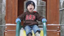 Snow fun in Angier, NC