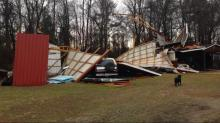 IMAGES: Tornadoes confirmed in Robeson, Wayne Counties