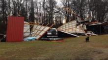 Damage in Roseboro