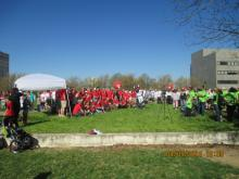 Various photos from the the Walk to Defeat ALS on 4/5/14