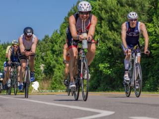 Ironman 70.3 Raleigh...bike race