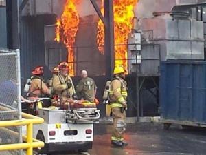 Firestone Plant Fire 6/28/14