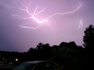 Tonight's Lightning Storm!!!