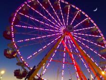 The North Carolina State Fair runs Oct. 16-26, 2014.