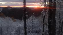 IMAGES: Your photos: Snow falls in NC mountains