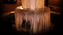 Fayetteville Frozen Fountain