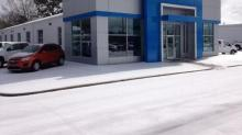 Universal Chevrolet in Wendell covered in Ice- Be Safe Out There!