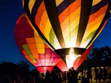 A collection of viewer-submitted photos of the 2015 Freedom Balloon Festival in Zebulon.