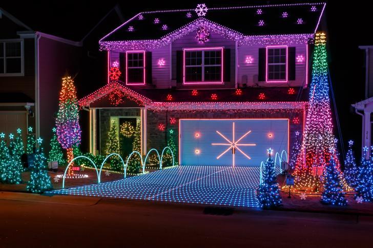 holiday lights displays wralcom - Local Christmas Lights Displays