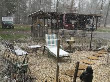 Snowing in Northern Granville