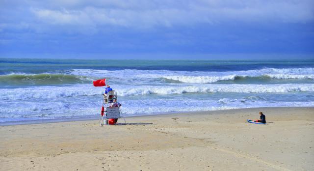 Hurricane beach photos