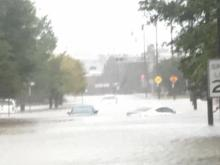 Photos from viewers as Hurricane Matthew makes its way into North Carolina.