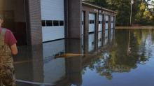 IMAGE: Flood victims should file with insurer, FEMA