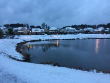 Chapel Hill Snow