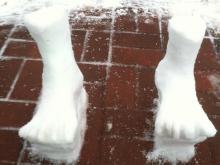 2 feet of snow in Durham