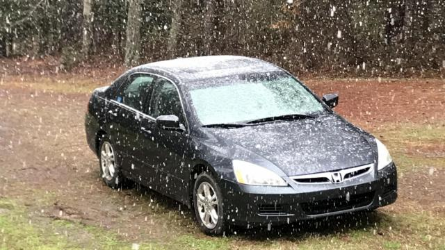 Snow in Pittsboro