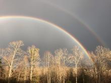 Rainbow in Clayton