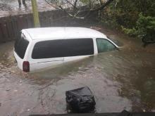 Ocracoke Island flooding