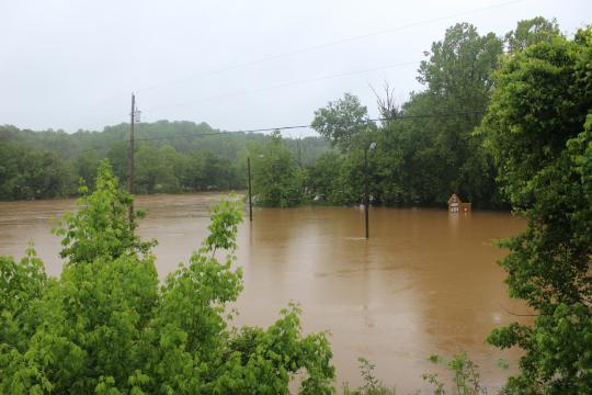 Dan river flooding