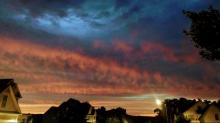 IMAGES: The Saharan dust is here and bringing gorgeous sunsets to NC