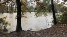 IMAGES: Neuse River in Clayton nears 16 feet, major flood stage