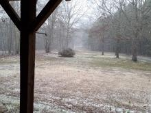 Your pics: Light snowfall northwest of Triangle