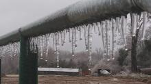 IMAGES: Some in NC without power for days after weekend ice storm