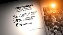 IMAGES: 2013 WRAL Poll on gun rights