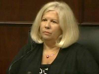 Linda Fisher testifies June 17, 2011, in the murder trial of her former son-in-law, Jason Young.
