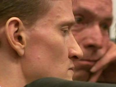 Jason Young sits during closing arguments in his first-degree murder trial on June 23, 2011.