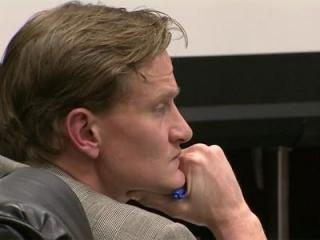 Jason Young listens as his defense attorney cross-examines a witness Feb. 9, 2012, in his first-degree murder trial.
