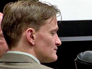 Jason Young sits during his first-degree murder trial on Feb. 21, 2012.
