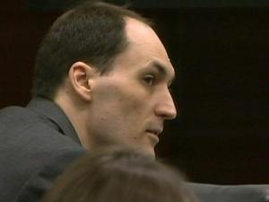 Brad Cooper, on April 21, 2011, during his first-degree murder trial.