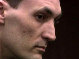 Brad Cooper during his first-degree murder trial on May 4, 2011.