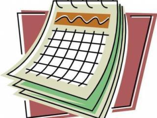 Generic Calendar Graphic
