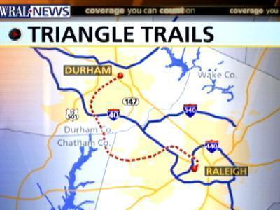 triangle bike trail