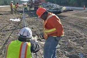 DOT Crews Hit Road for Guardrail Repairs