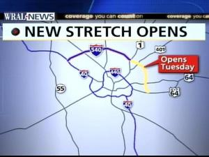 New Stretch Of I-540 Opens Today