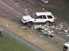 SKY 5: SUV Overturns On I-40 Off-Ramp